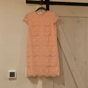 Dolce Vita peach lace dress
